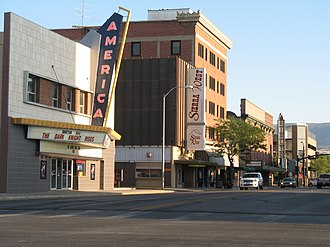 National Register of Historic Places listings in Natrona County, Wyoming - Image: 100 Block Center St, Casper