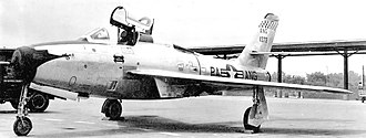 111th Fighter Wing - 103d FIS F-84F 51-1356, about 1955