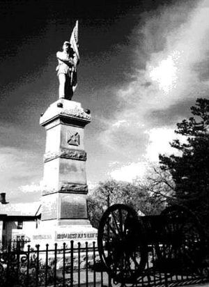 128th New York Volunteer Infantry - Monument to the 128th in Poughkeepsie, NY