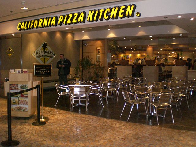 California Pizza Kitchen Near Del Amo Ave La County Ca