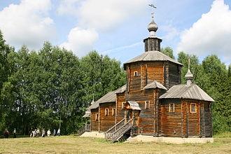 Zuyevsky District - Church with Ryabovo, Zuyevsky District