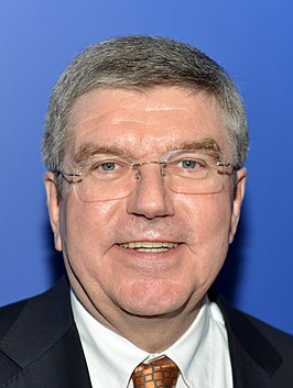 Thomas Bach in 2013