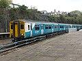 150240 and 150279 to Bridgend via Rhoose at Pontypridd (13956681531).jpg