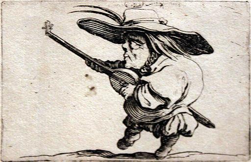 1620 Callot Der Zwerg mit der Laute anagoria