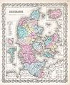 1855 Colton Map of Denmark - Geographicus - Denmark-colton-1855.jpg