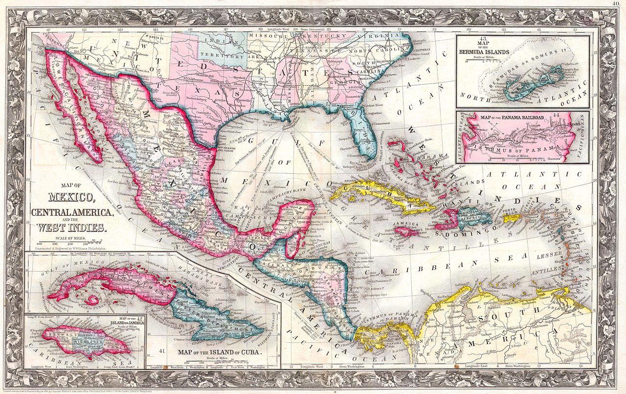Central American Islands Map Quiz