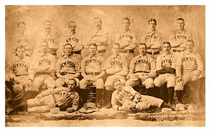 Temple Cup - Image: 1894 New York Giants
