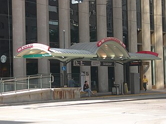18th & California and 18th & Stout stations - Image: 18th california rtd