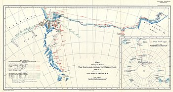 1904 Antarctic Expedition Map of Victoria Land and King Edward VII Land, Antarctica - Geographicus - AnarcticExp-mulock-1904.jpg