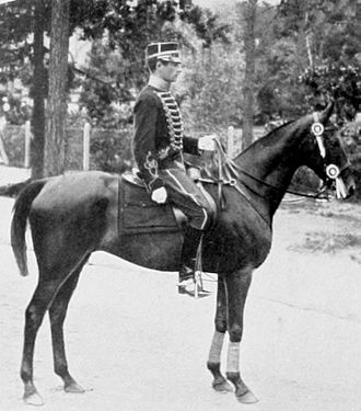 Axel Nordlander, who won two gold medals for Sweden in the dressage 1912 Axel Nordlander.JPG