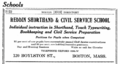 1916 Reddin Shorthand School advert Boston.png