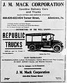 1918 - J M Mack Corporation Newspaper Ad2 Allentown PA.jpg