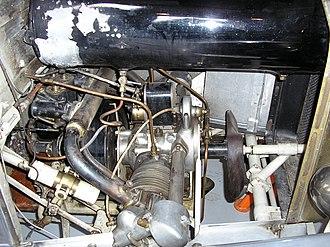 ABC (1920 automobile) - Engine in a 1926 ABC Super Sports.
