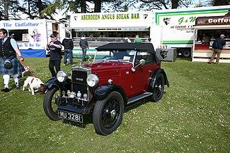 Jarvis of Wimbledon - 1931 Morris Minor Flat Nose with 2 seat Jarvis touring body