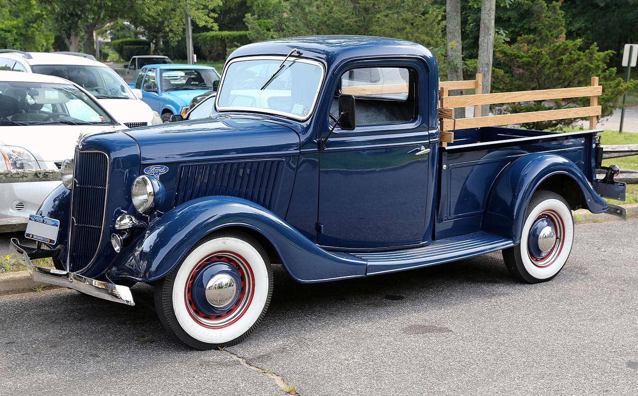 file 1936 ford v8 pickup model 67 front wikimedia commons. Black Bedroom Furniture Sets. Home Design Ideas