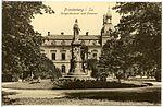 19449-Frankenberg-1915-Postamt und Kriegerdenkmal-Brück & Sohn Kunstverlag.jpg