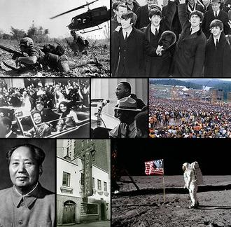 1960s - Image: 1960s montage