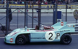 Jo Siffert - Siffert at the wheel of a Porsche 908
