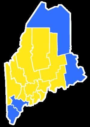 Maine gubernatorial election, 1974 - Image: 1974Maine Gubernatorial