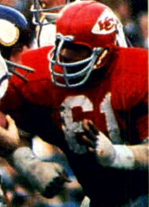 Curley Culp - Culp playing with the Chiefs in Super Bowl IV