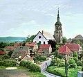 19870607050NR Dohna Marienkirche vom Burgberg gesehen.jpg