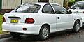 1996 Hyundai Excel (X3) Sprint 3-door hatchback (2011-06-15).jpg
