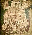 19th century copy of 1st century BCE to 5th century CE Ajanta Cave 2 painting Hariti and Kubera b.jpg