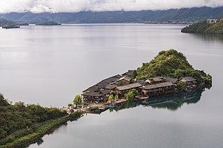 Lugu Lake lake in Sichuan and Yunnan, Peoples Republic of China