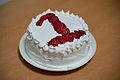 1st Birthday Cake (1歳の誕生日ケーキ) (3470200661).jpg