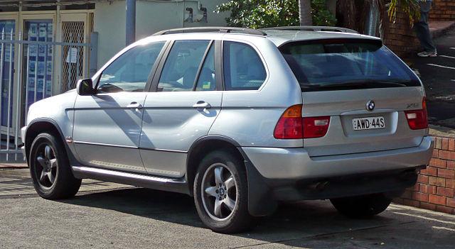 Image of BMW X5 4.4i (E53)