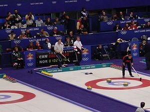 The Ice Sheet at Ogden - 2002 Olympic curling competitions inside the Ice Sheet