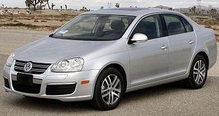 Volkswagen Jetta (A5) German compact car
