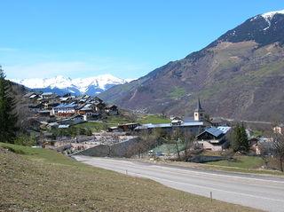 Saint-Bon-Tarentaise Part of Courchevel in Auvergne-Rhône-Alpes, France