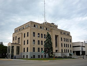 Das Marinette County Courthouse in Marinette