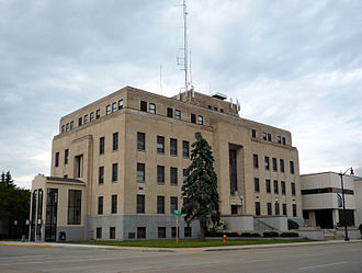 Marinette, Wisconsin - Marinette County Courthouse