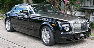 Rolls-Royce Motor Cars - Rolls-Royce Phantom coupe