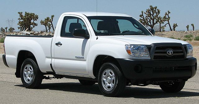 Toyota Tacoma Standard Bed Size
