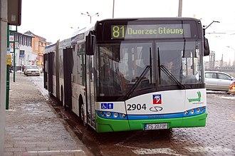 Szczecin Główny railway station - Image: 2010 12 szczecin by Ralf R 21