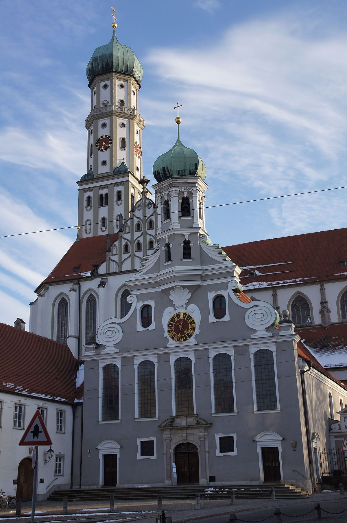 basilica of ss ulrich and afra augsburg wikipedia. Black Bedroom Furniture Sets. Home Design Ideas