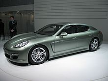 Porsche Panamera S Hybrid At The 2017 Geneva Auto Show