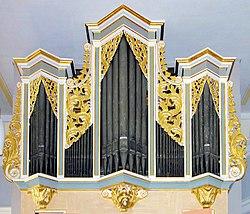 20110902035DR Niederschöna (Halsbrücke) St Annen Kirche Silbermann-Orgel.jpg
