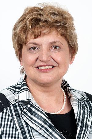 Deutsch: Landtagspräsidentin Birgit Diezel