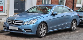 Mercedes-Benz E-Class (C207) Motor vehicle