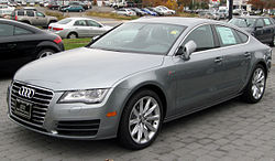 2012 Audi A7 (US)