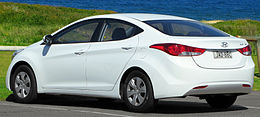 2012 Hyundai Elantra (MD) Active sedan (2012-09-01).jpg