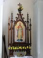 2013 Altar of Saint Benedict church in Płock - 06.jpg