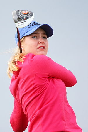 Charley Hull - Hull at the 2013 Women's British Open
