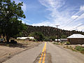 2014-07-30 13 31 51 View west along Main Street in Manhattan, Nevada.JPG