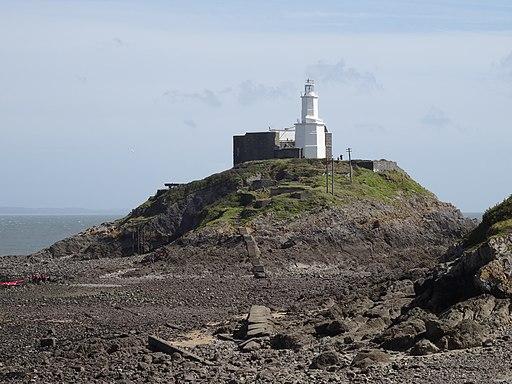 20140828 I72 Mumbles Lighthouse (14995174599)