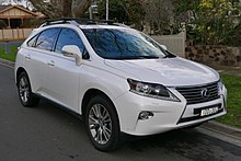 Toyota wikipedia the lexus rx 450h is the top selling hybrid of the lexus brand with global sales of 363000 units as of january 2017 fandeluxe Gallery